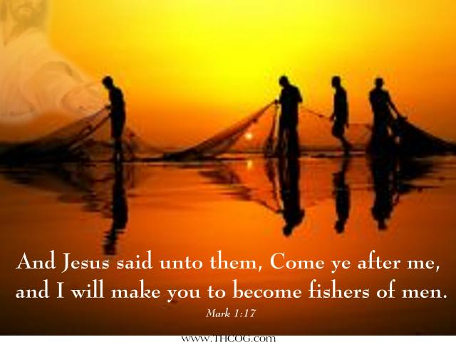 fishers of men Bible study on how to become fishers of men.